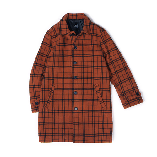 [30%할인][[Abnormalthing] - Mac Coat (Orange)