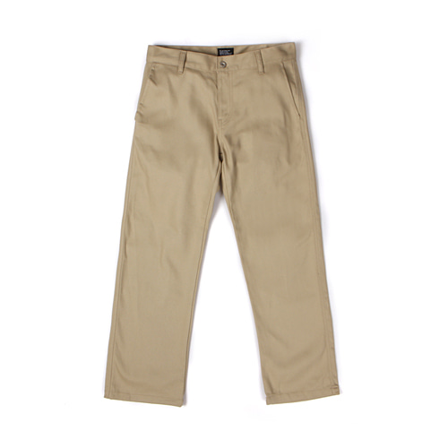 [30%할인][[Abnormalthing] - Cotton Straight Pants (Beige)