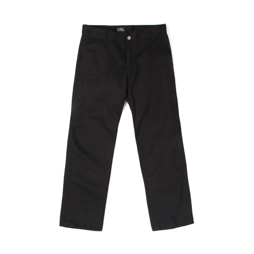[30%할인] [Abnormalthing] - Cotton Straight Pants (Black)