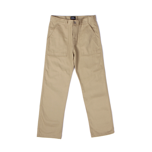 [Abnormalthing] - Fatigue Pants (Beige)