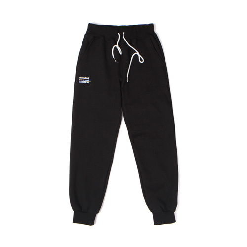 [30%할인][[Abnormalthing] - Training Sweat Pants (Black)