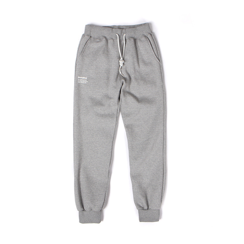 [30%할인][[Abnormalthing] - Training Sweat Pants (Gray)