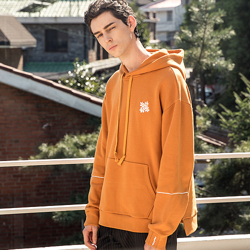 [Trippin CeLL] Puzzle Hoodie (mustard)