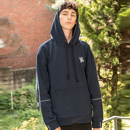 [Trippin CeLL] Puzzle Hoodie (navy)