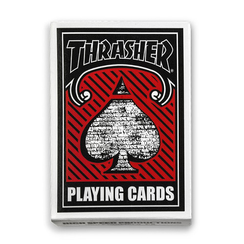 [Thrasher] Playing Cards - Multi