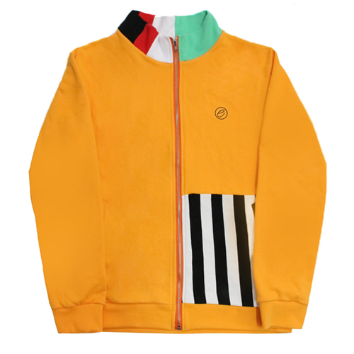 [e by EASY BUSY] Malevich Track Top - Gold
