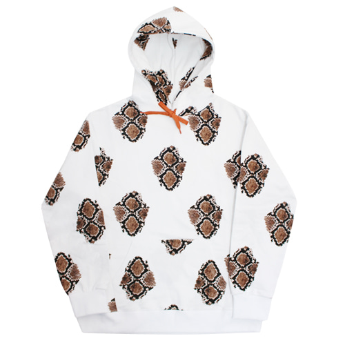 [e by EASY BUSY] Snake Hoody - White