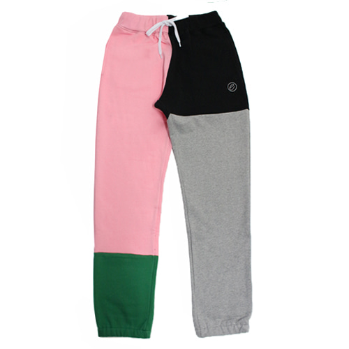 [e by EASY BUSY] Malevich Track Pants - Green