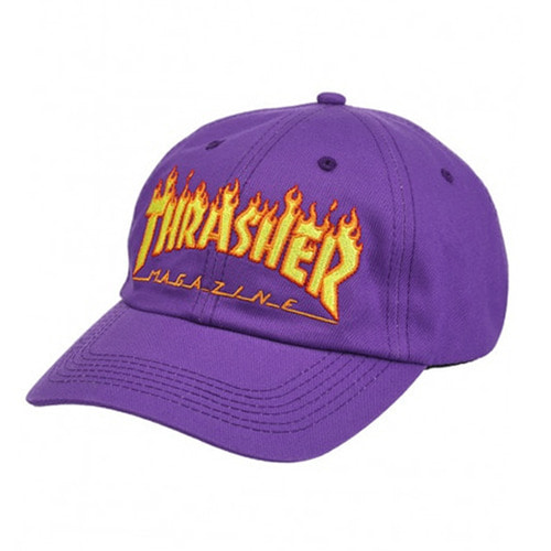 [Thrasher] Flame Old Timer - Puple