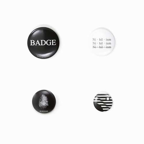 [SAINTSHOW] N·N·N BUTTON PIN SET