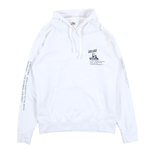 [Jungles] MIND CLEANSER HOODIE - WHITE