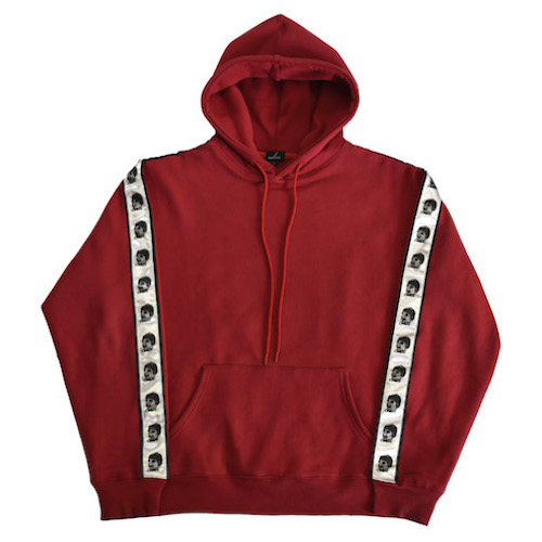 [COKIE] SIDE HOOD - RED