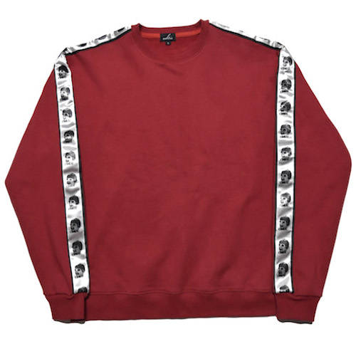 [COKIE] SIDE SWEAT SHIRT - RED