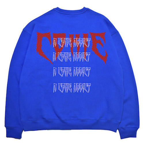 [COKIE] BIG LOGO SWEAT SHIRT - BLUE