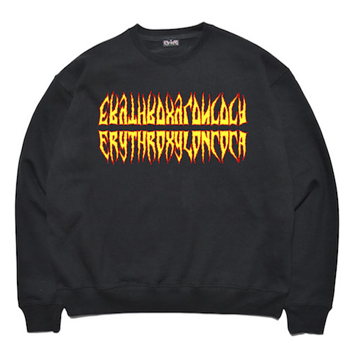 [COKIE] COCA SWEAT SHIRT - BLACK