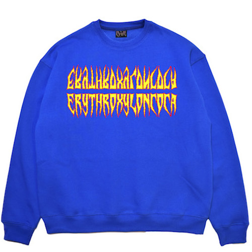 [COKIE] COCA SWEAT SHIRT - BLUE