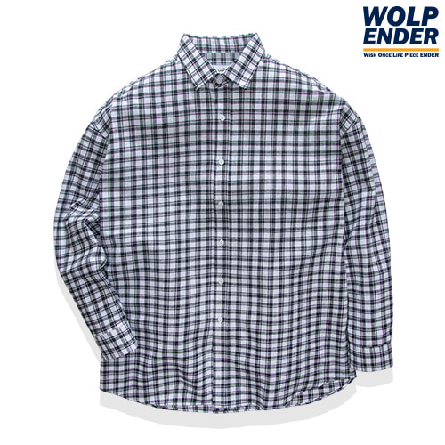 [WOLPENDER] (Unisex) Cove Flannel Check-Shirts