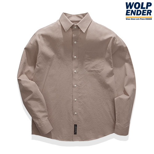 [WOLPENDER] (Man) Pigment Cotton Shirts