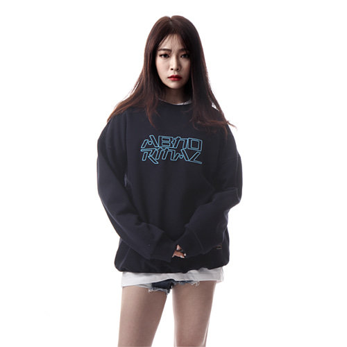 [앱놀머씽] Embo Crewneck (Navy)