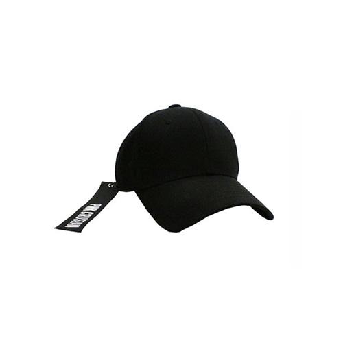 [PINK CRUSIAN] WEBBING STRAP BALL CAP_Black