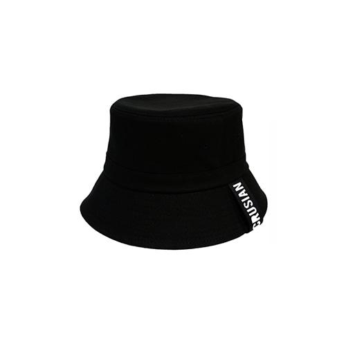 [PINK CRUSIAN] logo strap bucket hat