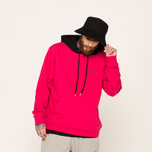 [EINEN]blend hooded sweatshirts cherrypink
