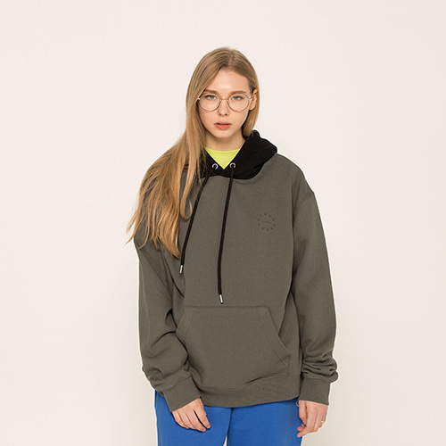 [EINEN]blend hooded sweatshirts olive