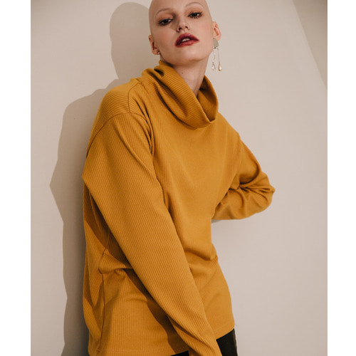 [199XKIDS] TURTLENECK SHIRTS (MUSTARD)