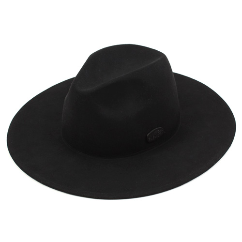 [UNIVERSAL CHEMISTRY] Black Simple Fedora GD 페도라