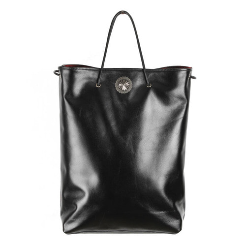 [AGINGCCC]305# COWHIDE SHOPPER BAG-CONCHO