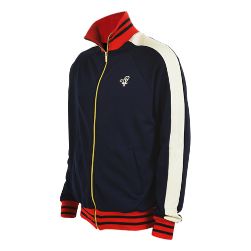 [LOLO ATLANTA] NAVY TRACK TOP (Navy/Cream)