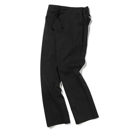 [KRUCHI] Leopard Easy Pants (black)