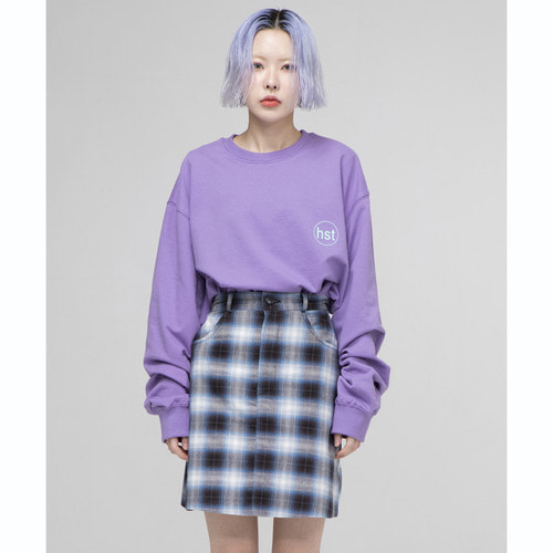 [OURHISTORY]OHST Long Sleeve T-shirt_Purple