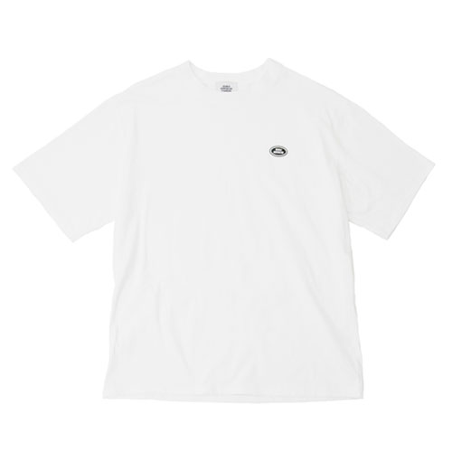 [Double adrenaline syndrome] BASIC LOGO 1/2 TEE - WHITE
