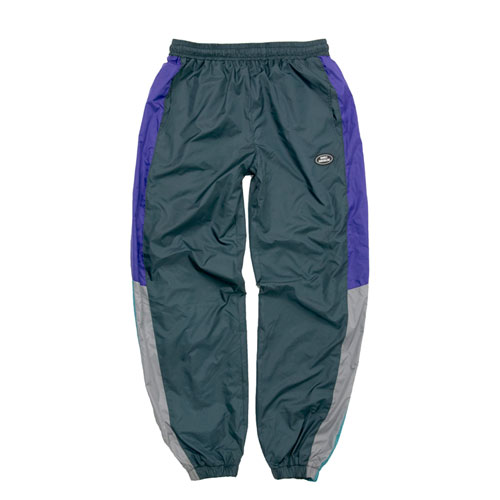 [Double adrenaline syndrome] RETRO BLOCK PANTS - GREEN