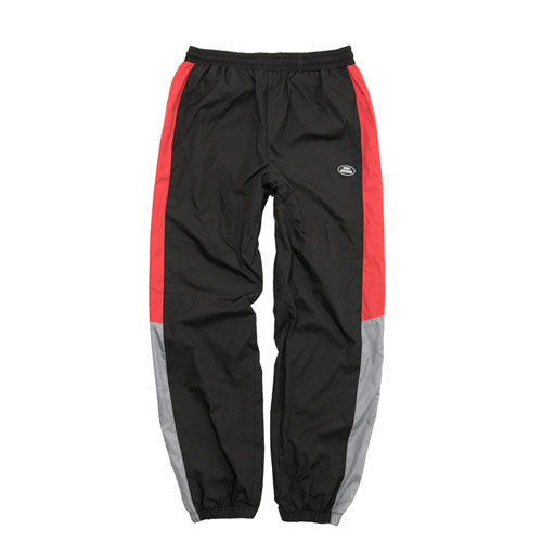 [Double adrenaline syndrome] RETRO BLOCK PANTS - BLACK