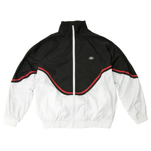 [Double adrenaline syndrome] RETRO WIND JACKET - BLACK