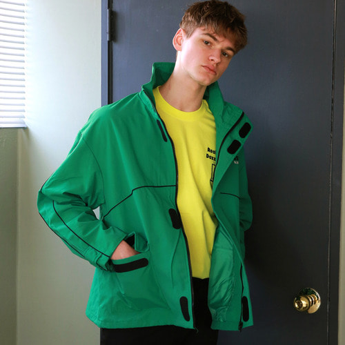[어패럴싯]UNISEX SUNSHINE WINDBREAKER GREEN