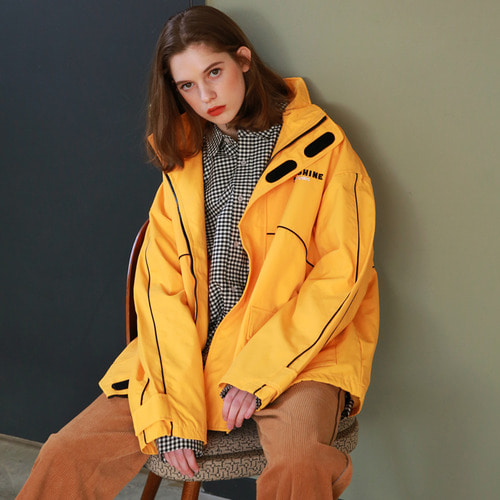 [어패럴싯]UNISEX SUNSHINE WINDBREAKER YELLOW
