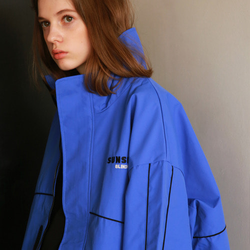 [어패럴싯]UNISEX SUNSHINE WINDBREAKER BLUE