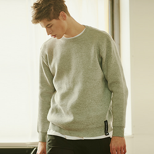[CRUMP] Crump overfit knit (CT0119-2)