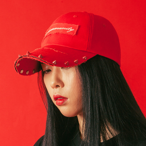 [KING] PSYCHOMMUNITY Cap -Red