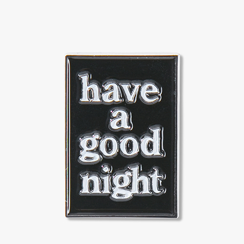 [Have a good time] Good Night Pin