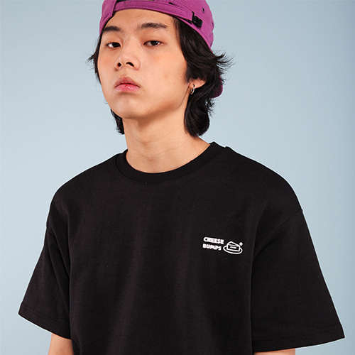 [페퍼시즈닝] BUMPS T-SHIRT / BLACK