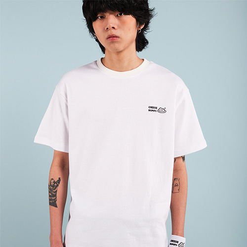 [페퍼시즈닝] BUMPS T-SHIRT / WHITE