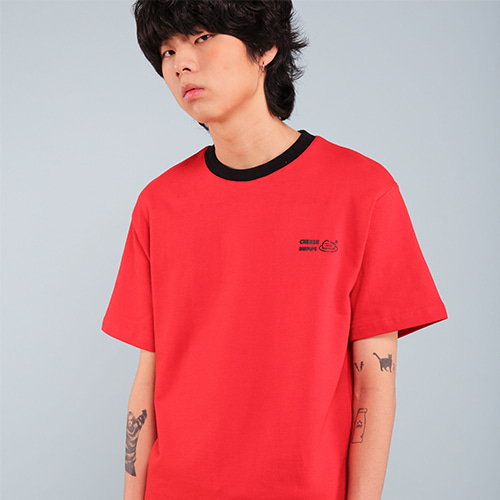 [페퍼시즈닝] BUMPS T-SHIRT / RED