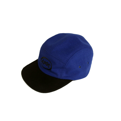 [A PIECE OF CAKE] Oval Logo Camp Cap_Blue