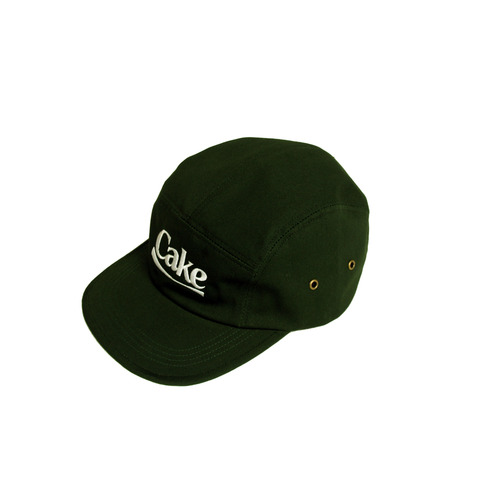 [A PIECE OF CAKE] Cake Logo Camp Cap_Green