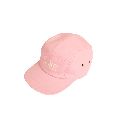 [A PIECE OF CAKE] Cake Logo Camp Cap_Pink