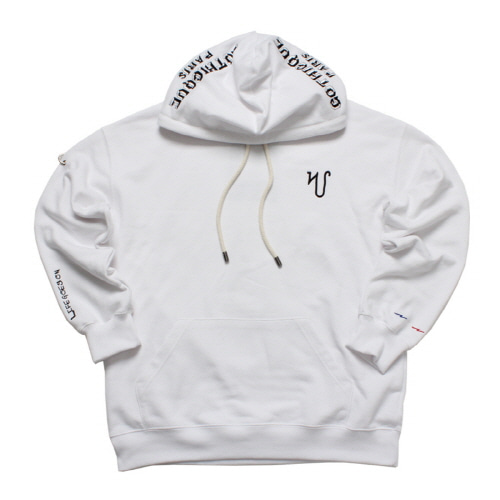 [GOTHICQUE] Overlettering Hoodie [G8SA10U80]